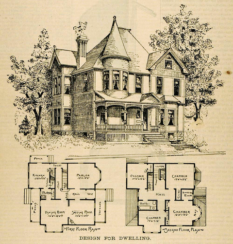 The Main Elements Of The Queen Anne Victorian Home Style Arrow Hill Cottage
